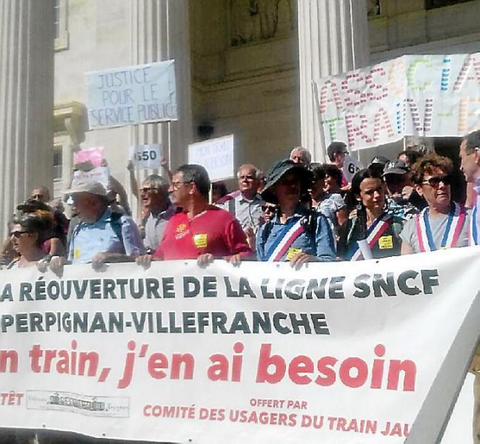 Le tribunal de Marseille reçoit les défenseurs de Train-en-Têt