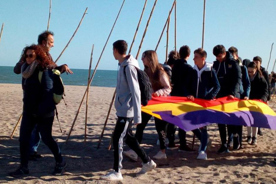Argelès-sur-Mer. La Retirada et les collégiens