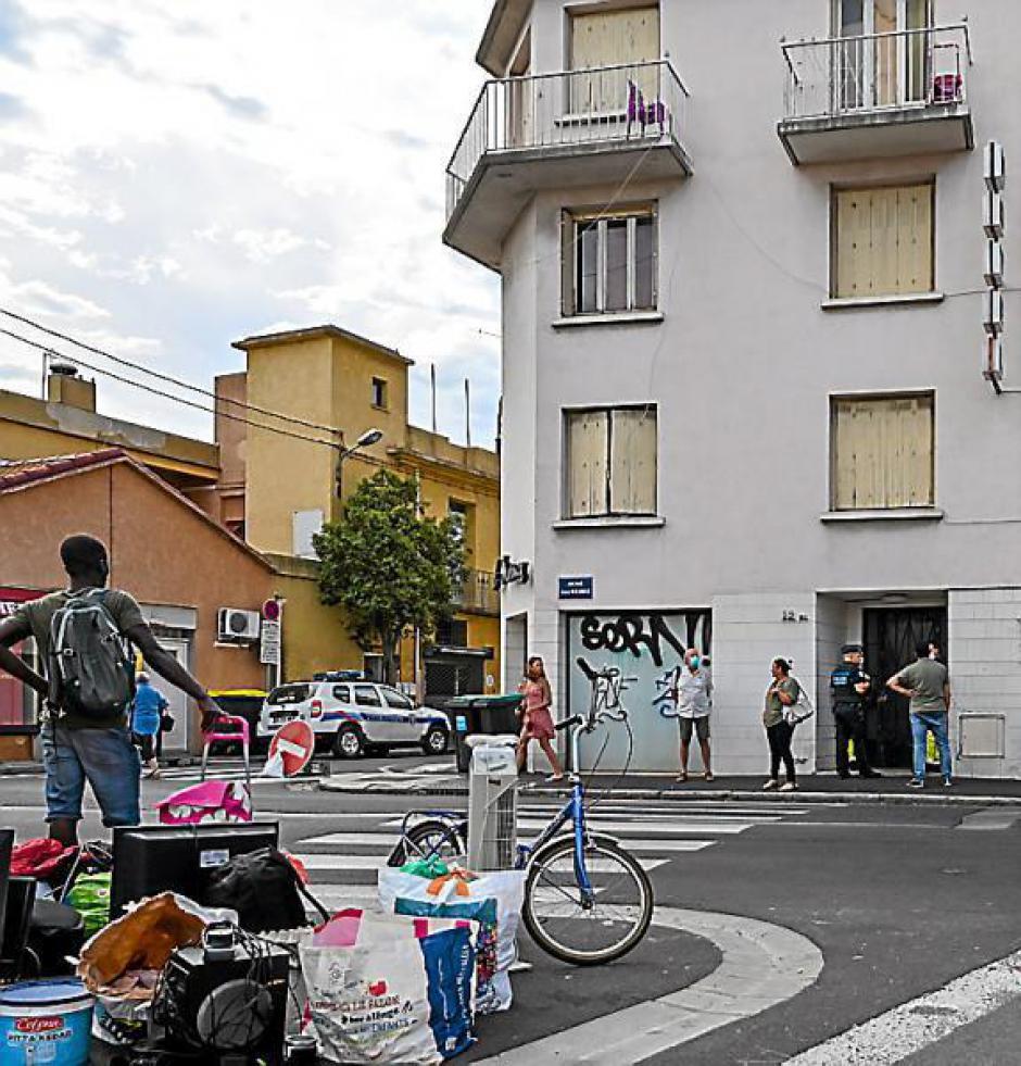 Perpignan. Des sans-papiers expulsés d'un hôtel abandonné avenue Mermoz