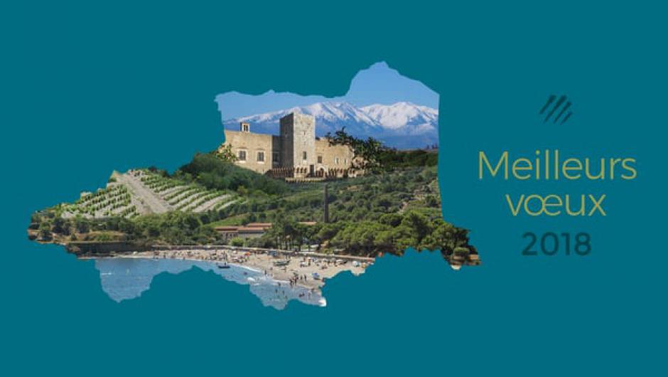 Vœux du Conseil départemental des Pyrénées-Orientales