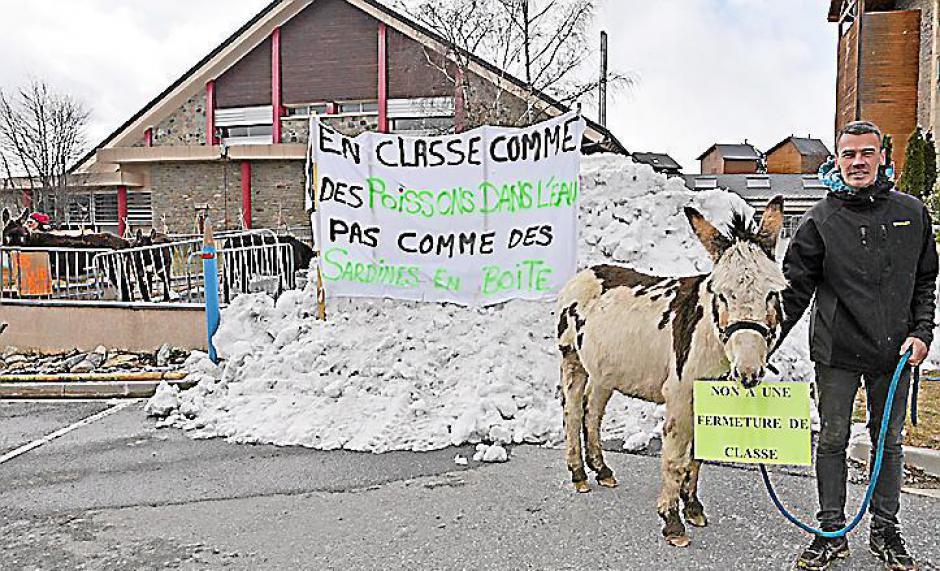 Menace de fermeture de classe à Bolquère. « Nous ne lâcherons rien »