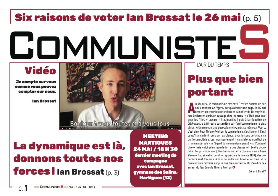 CommunisteS n°769