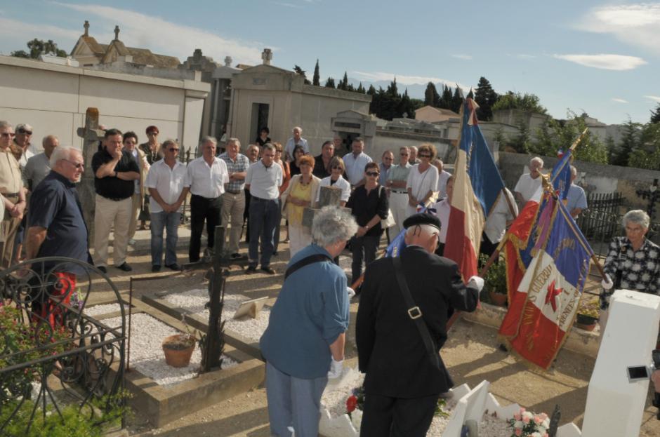Commémoration de la Résistance. Roger Roquefort, jeune résistant communiste abattu sauvagement par la gestapo