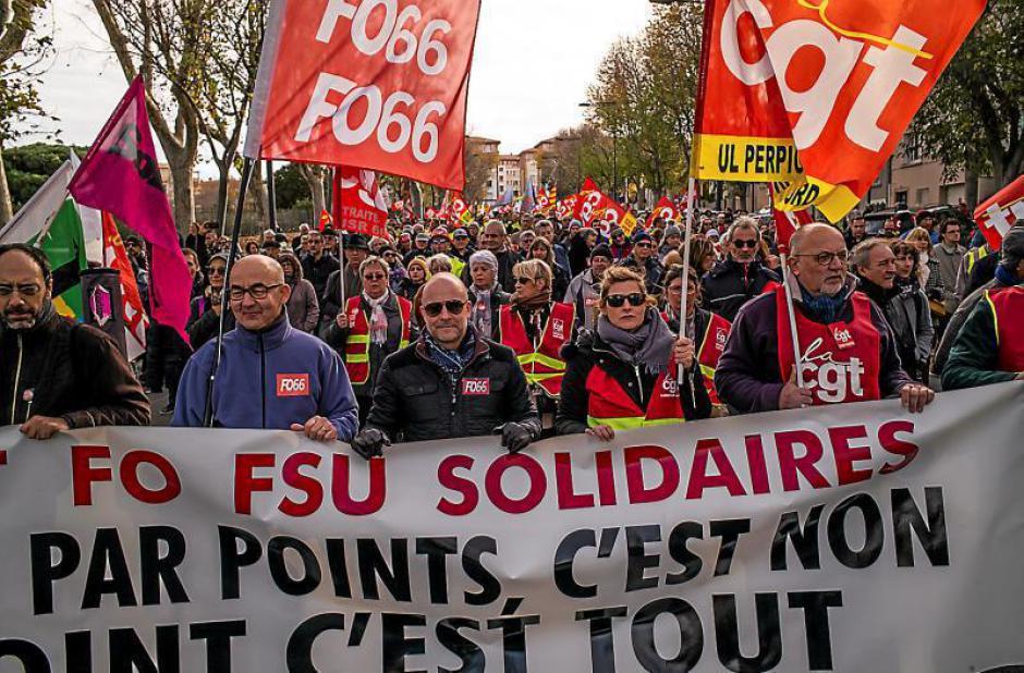 5.000 personnes contre la réforme des retraites. Motivés comme jamais