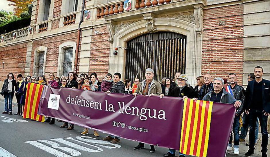 Ils réclament l'option catalan dans tous les collèges et lycées