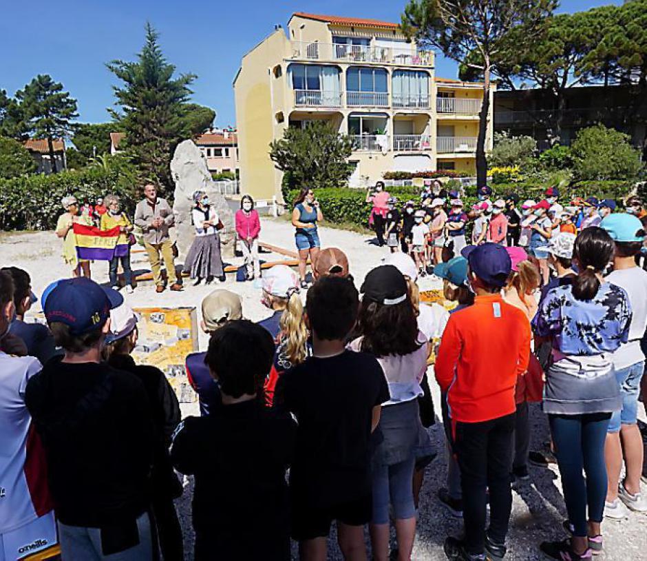 Argelès-sur-Mer. Retirada ; les élèves avaient rendez-vous avec l'histoire (L'Indep)