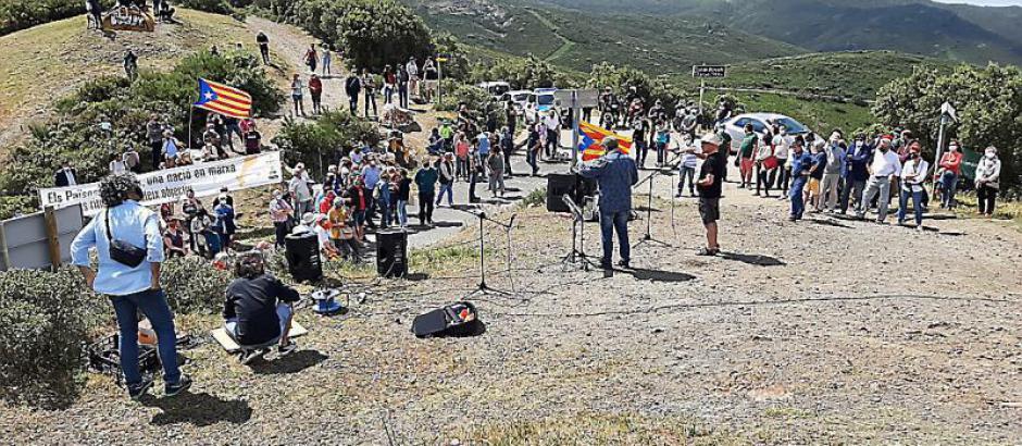 Banyuls-sur-Mer. Manifestation transfrontalière pour la réouverture du col (L'Indep)