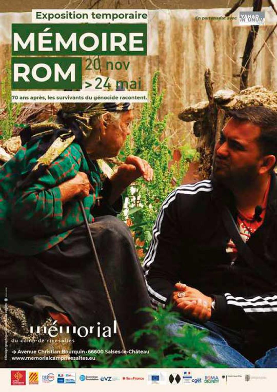 Vernissage de l'exposition «  Mémoire rom »