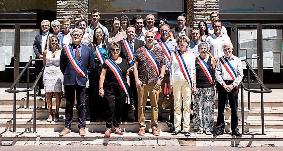 Elne. Nicolas Garcia retrouve son écharpe de maire