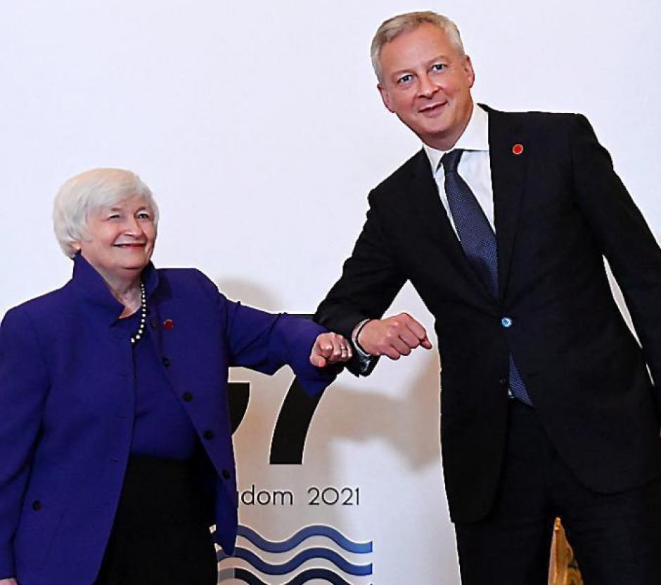 Finances. Accord historique sur un impôt minimal mondial sur les sociétés (L'Indep)