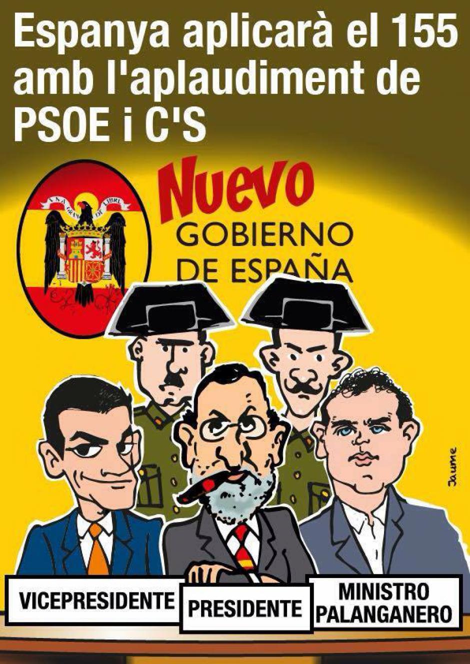 Je vous en prie, ne laissez pas étouffer la Catalogne !