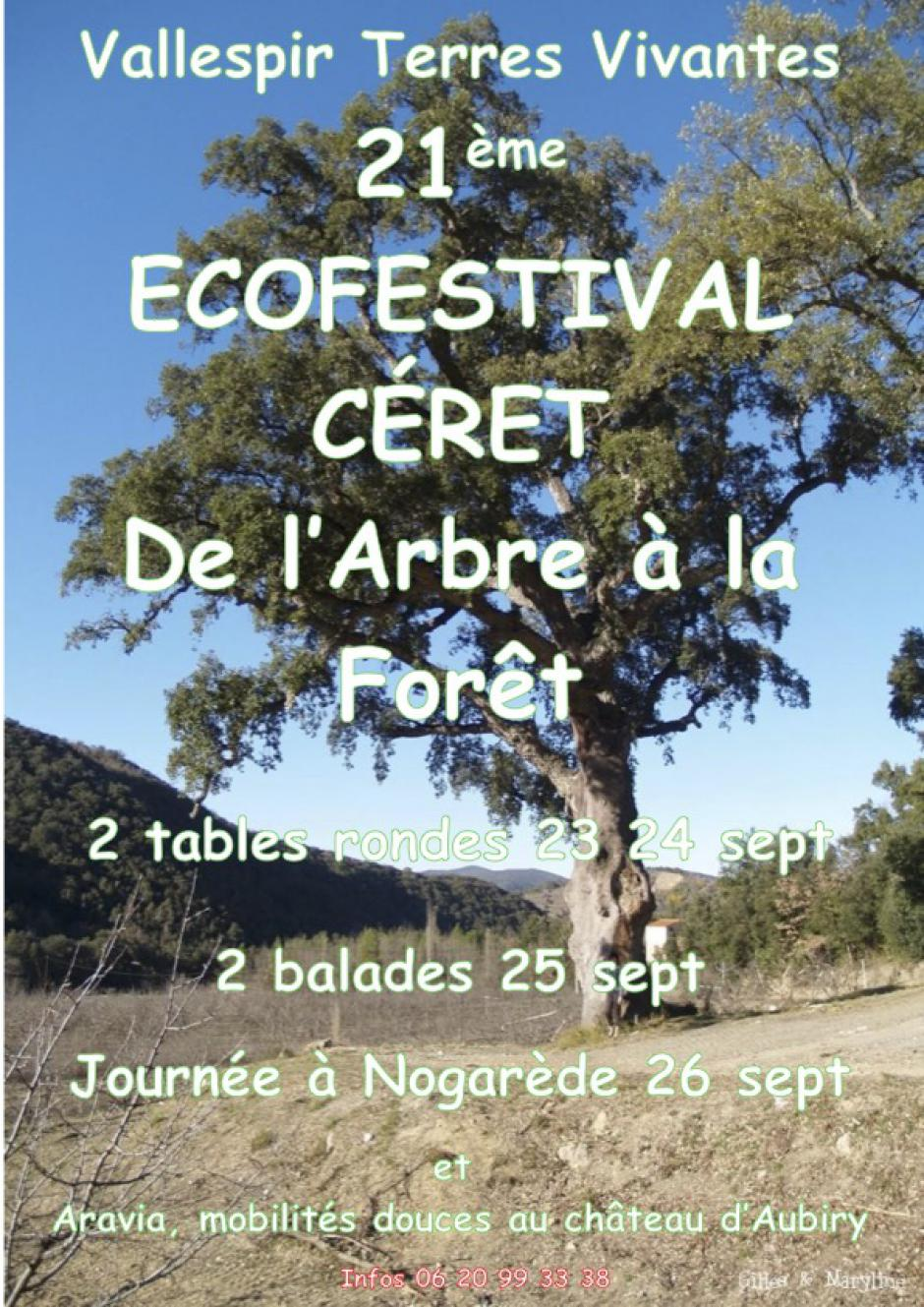 21ème Écofestival de Céret. «De l'Arbre à la Forêt»