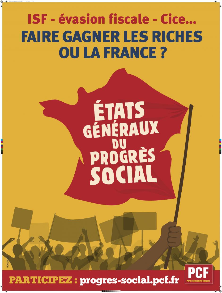 Après les États généraux du 3 février. Poursuivons nos combats pour le progrès social