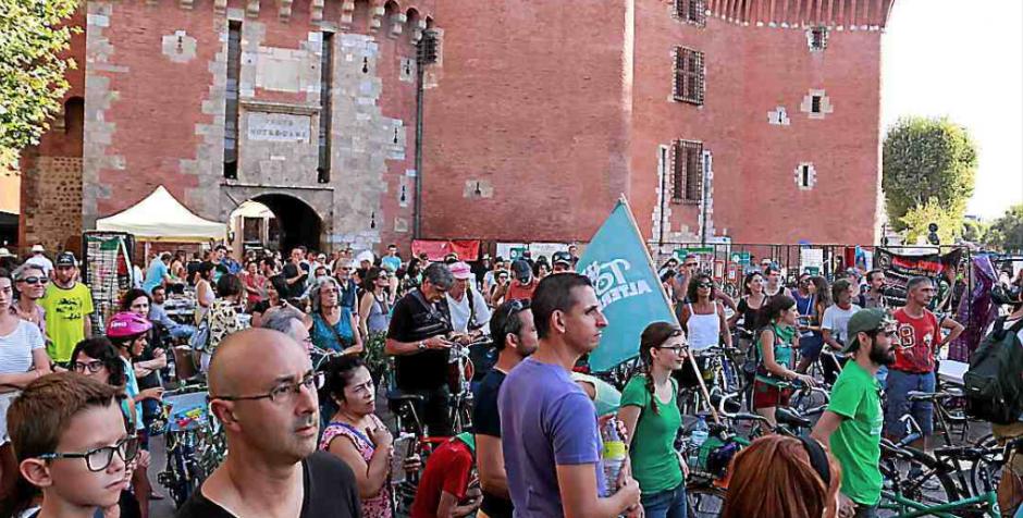 Plus de 1.500 personnes réunies pour agir contre le réchauffement climatique