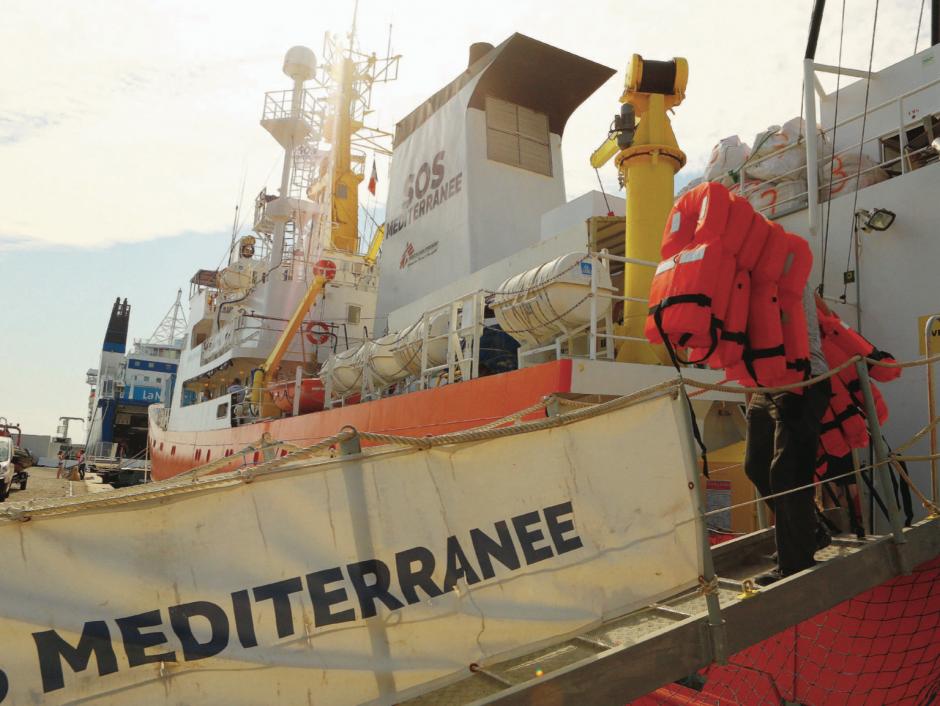 « L'Aquarius » ne renverra pas les migrants en Libye