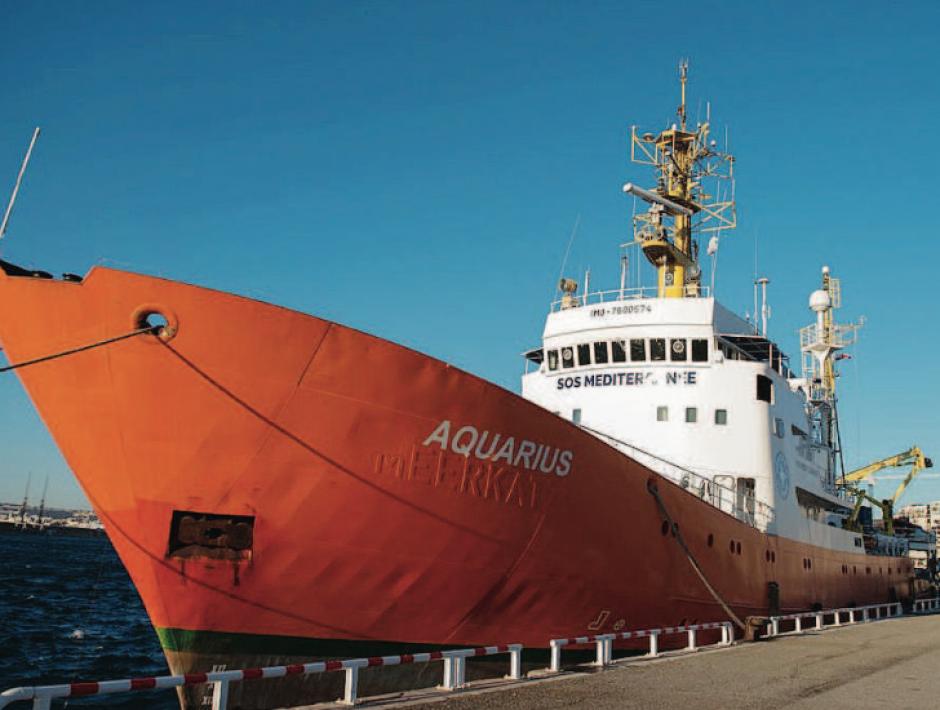 Le navire l'Aquarius reprend sa mission de sauvetage des migrants