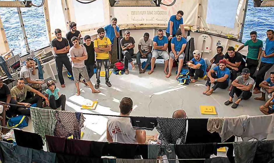 Immigration. L'Aquarius demande un feu vert « humanitaire » à la France
