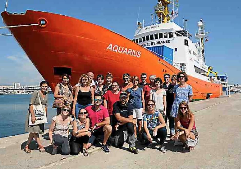 Sos Méditerranée. « Le rétrécissement de l'espace humanitaire est irresponsable »