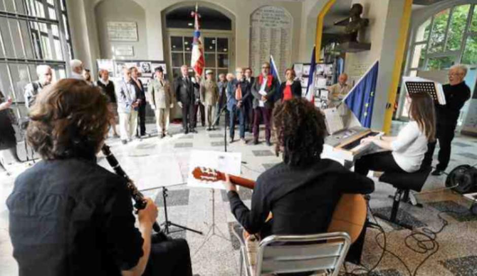 Le lycée Arago honore les femmes de la Résistance