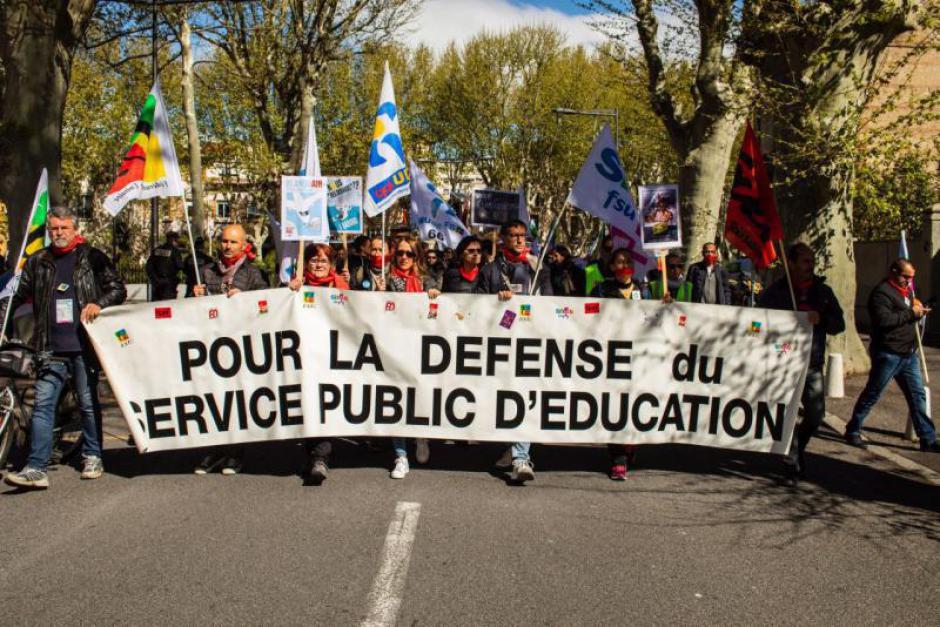 Les enseignants dans la rue jeudi pour réclamer un plan d'urgence (L'Indep)