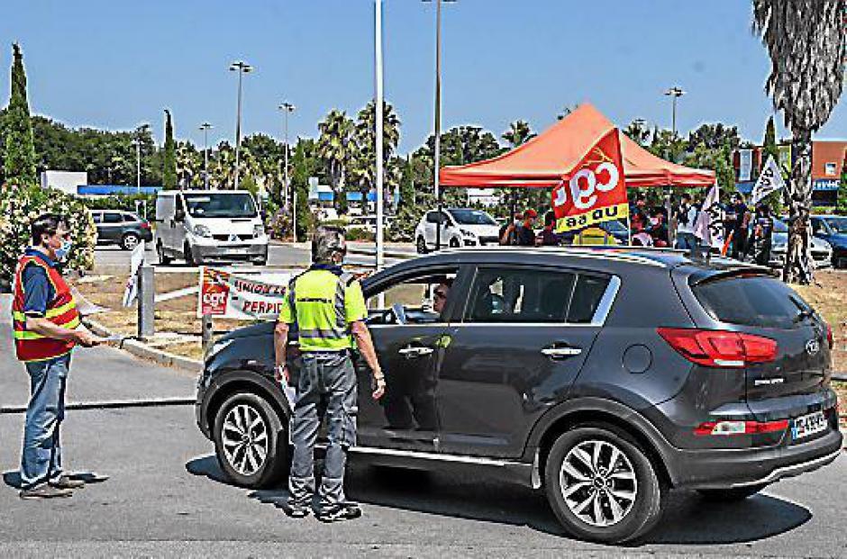 Castorama de Perpignan. Une cinquantaine de salariés en grève