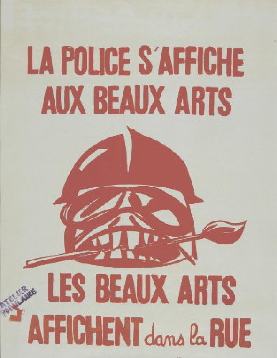 Inauguration de l'exposition Mai 68-2018, images de lutte