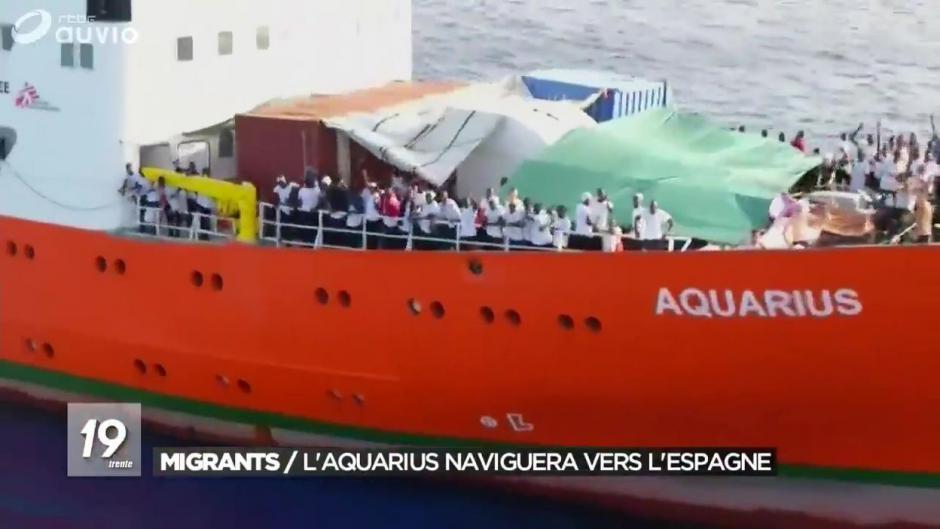 Aquarius. L'Espagne n'exclut pas d'expulser des migrants