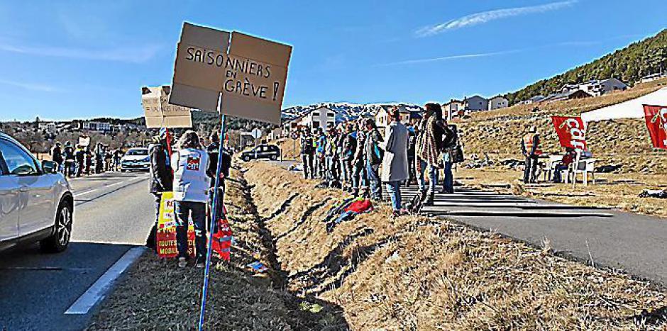Capcir-Cerdagne. Les saisonniers manifestent contre les réformes