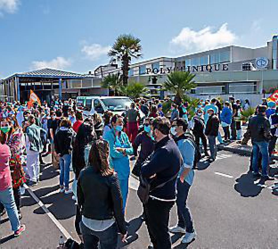 Clinique Médipôle. Vers un 8e jour de grève (L'Indep)