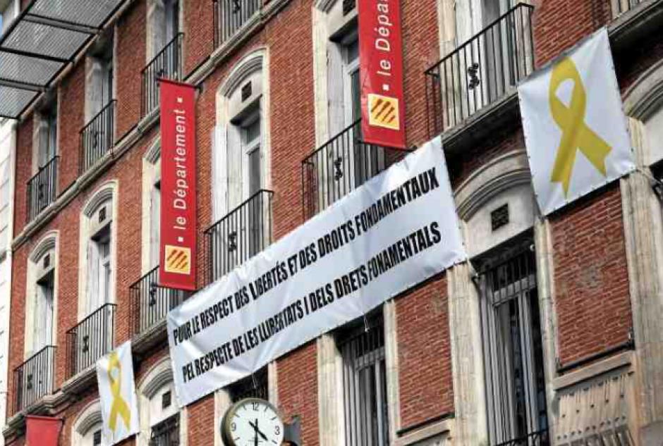 Catalogne. Le Département affiche son soutien