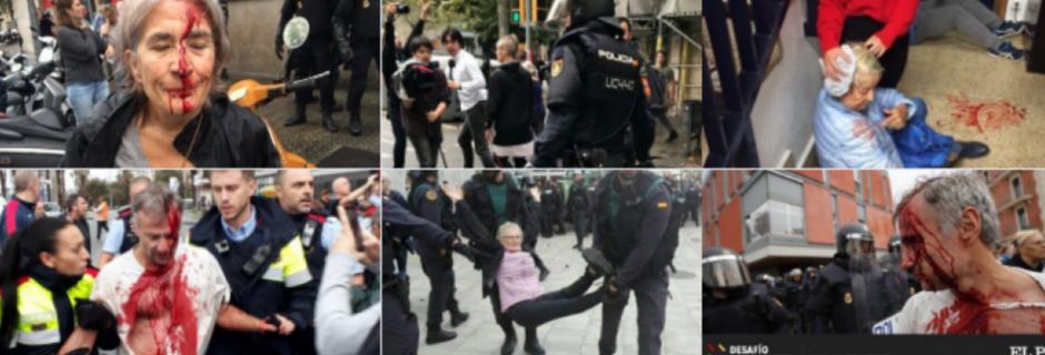 Catalogne. La Guardia civil charge les gens de paix