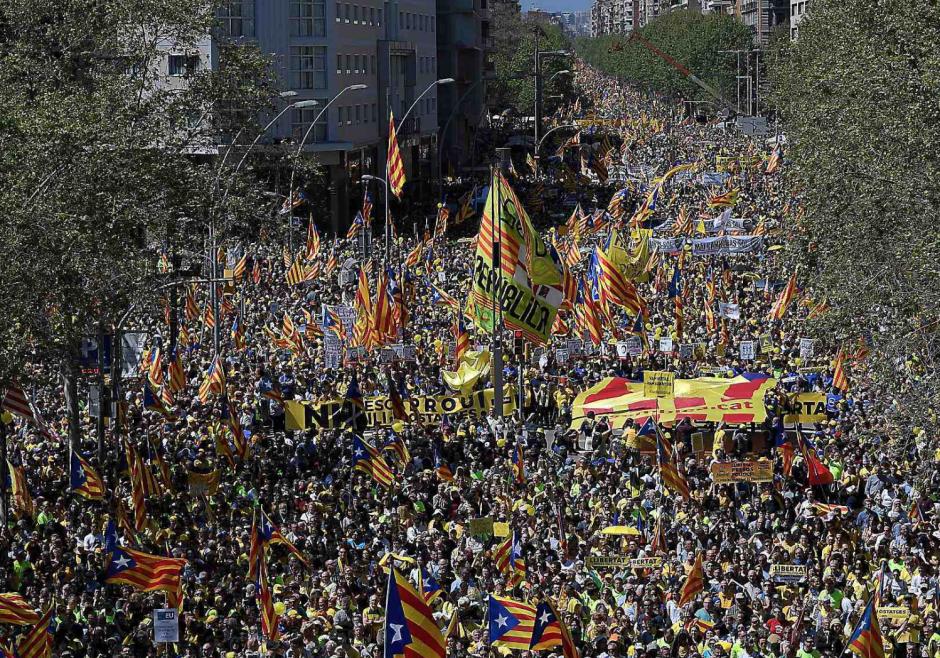 Manifestation à Barcelone : « Le pacifisme catalan finira par vaincre »