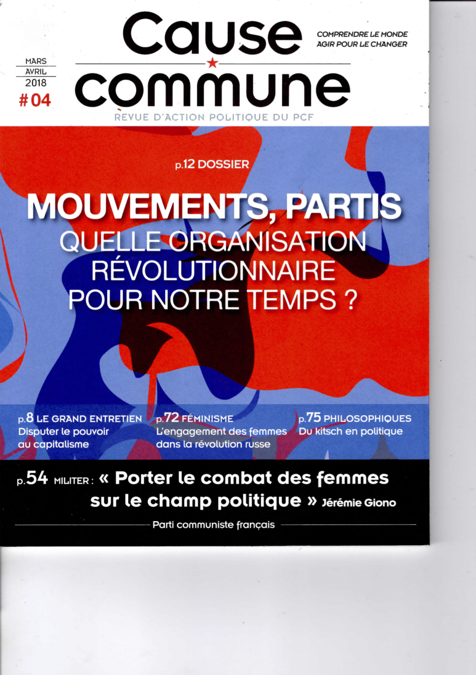 Cause commune n°4 (mars-avril 2018)
