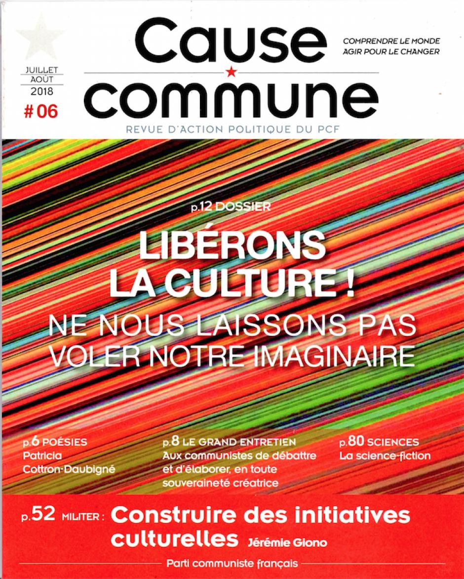 Cause commune n°6 (juillet-août 2018)