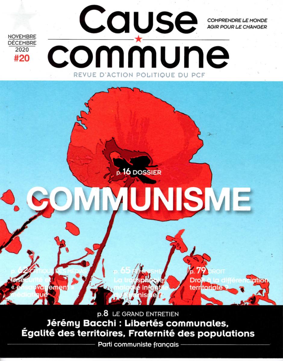 Cause commune n°20 (novembre-décembre 2020)