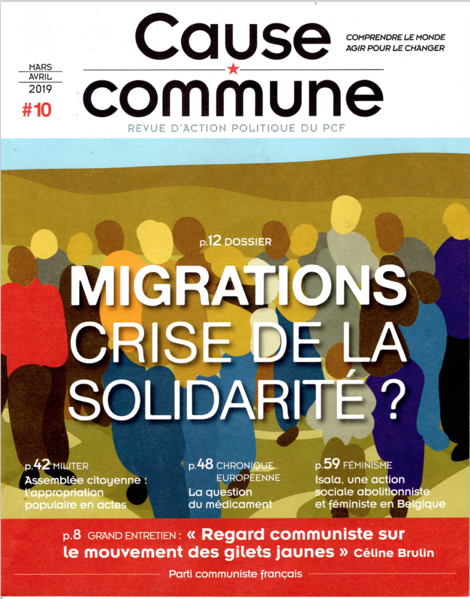 Cause commune n°10 (mars-avril 2019)