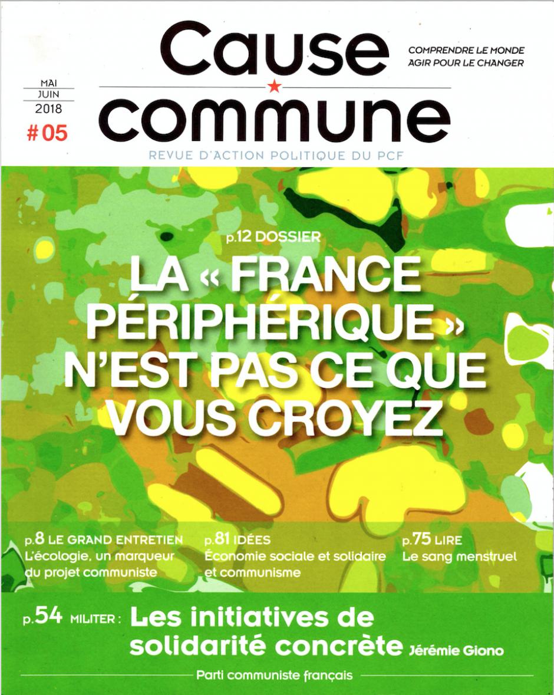 Cause commune n°5 (mai-juin 2018)