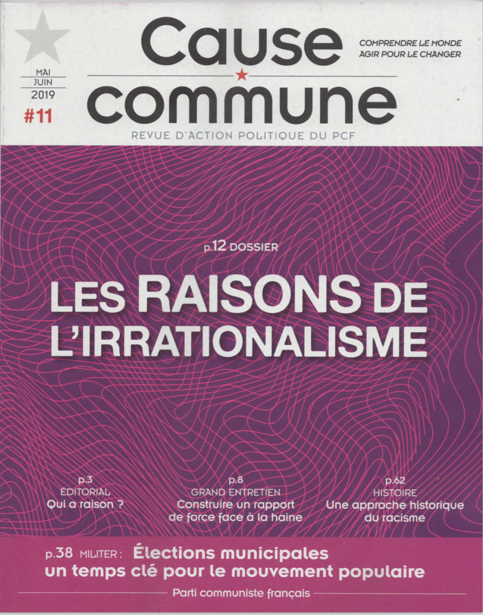 Cause commune n°11 (mai-juin 2019)