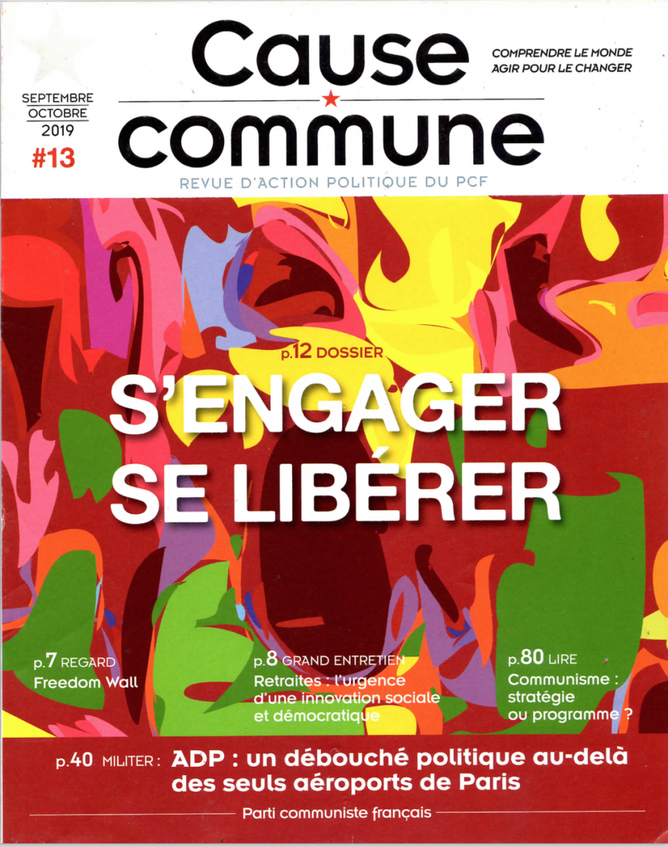 Cause commune n°13 (septembre-octobre 2019)