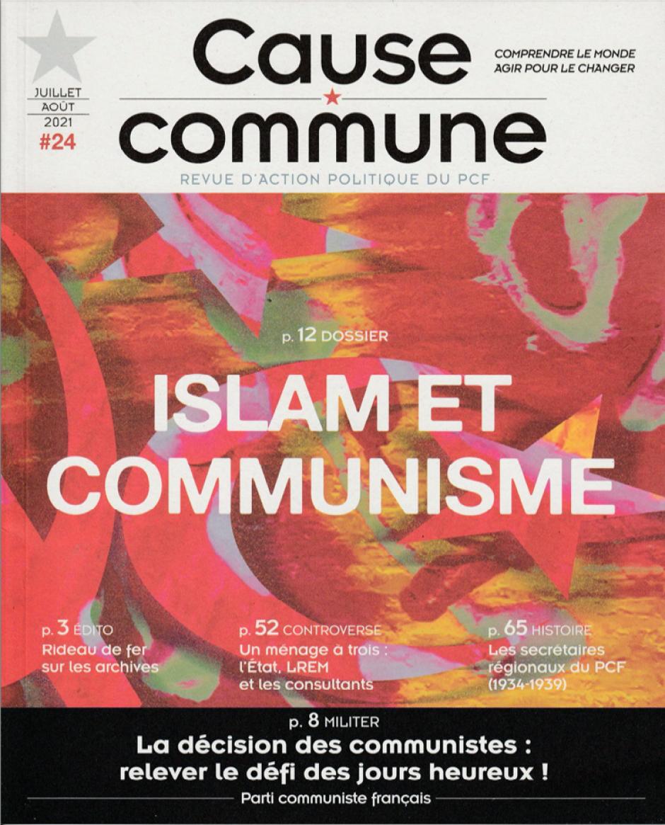 Cause commune n°24 (juillet-août 2021)