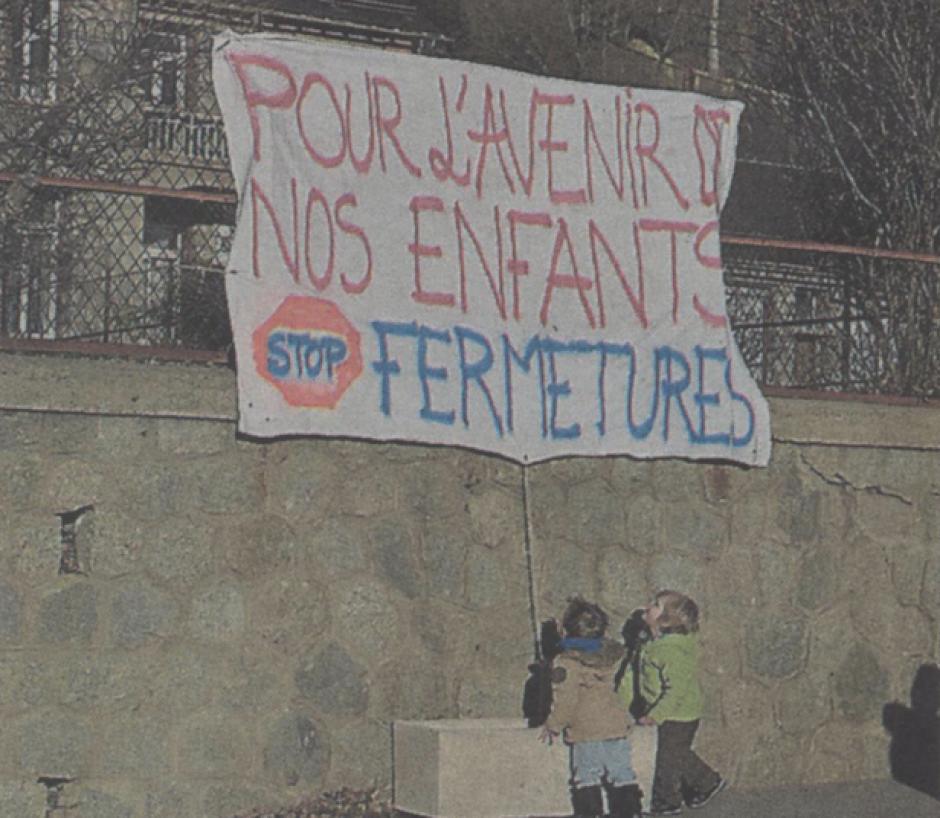 Cerdagne-Capcir. La mobilisation s'organise en noir contre les fermetures de classes