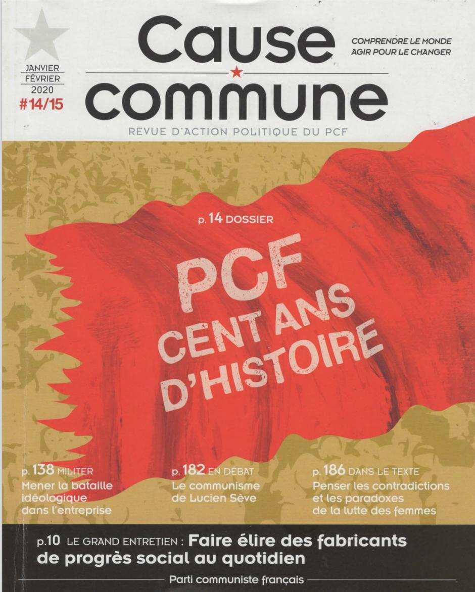 Cause commune n°14-15 (novembre-décembre 2019 / janvier-février 2020)
