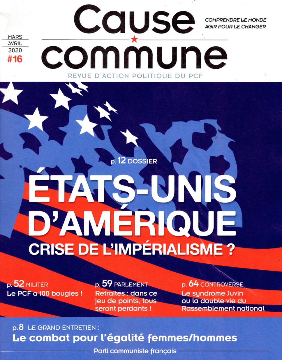 Cause commune n°16 (mars-avril 2020)
