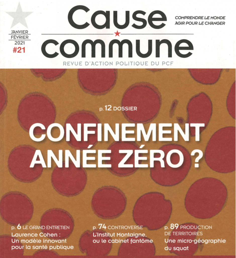 Cause commune n°21 (janvier-février 2021)