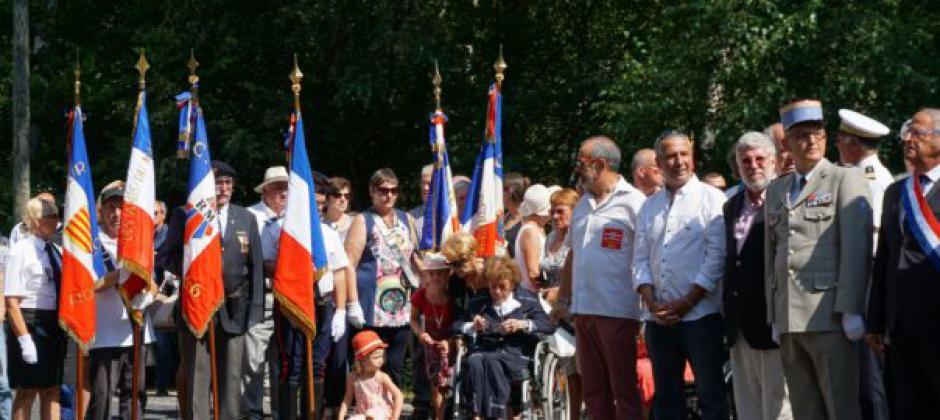 Valmanya. Commémoration de la Libération