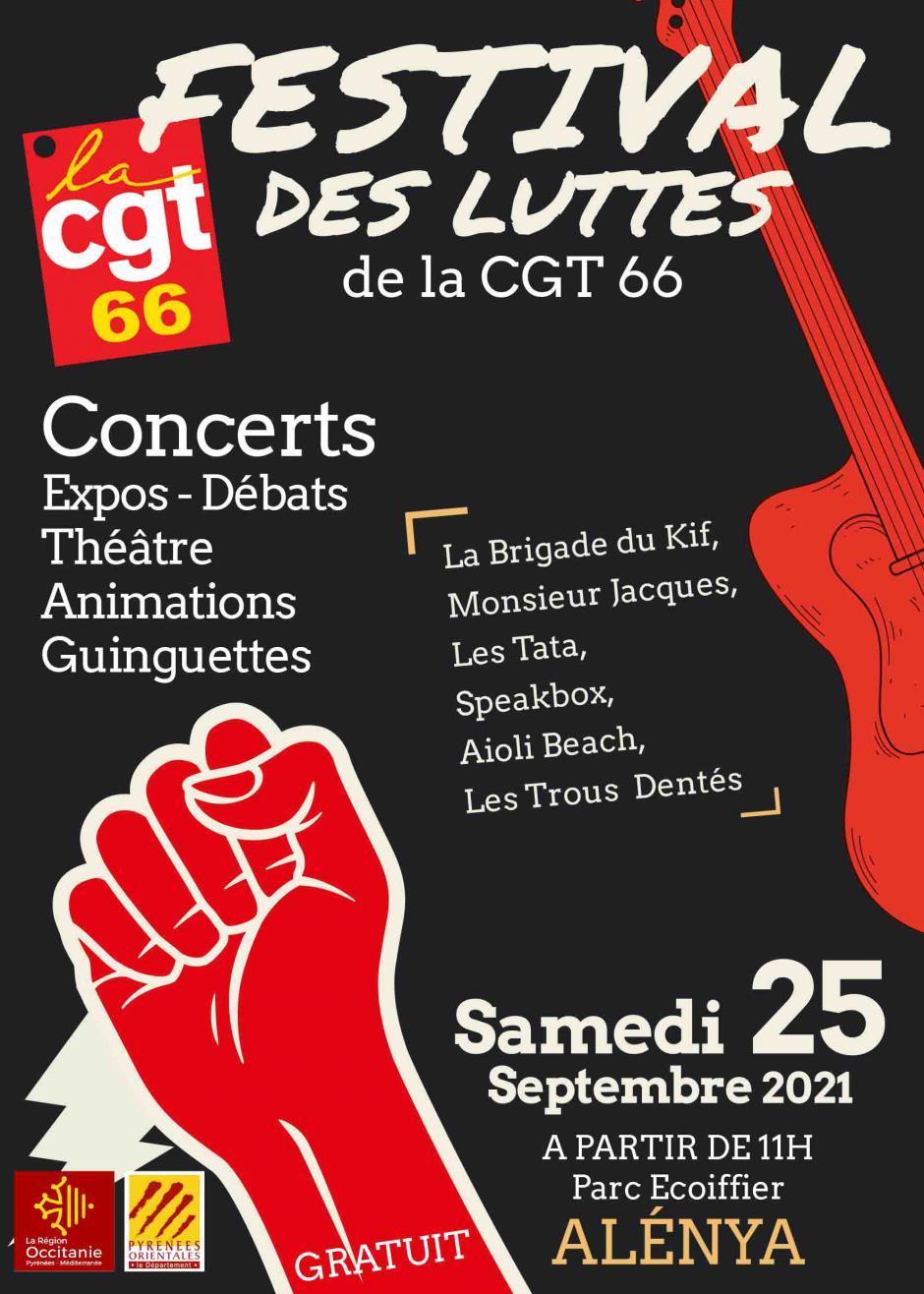 Festival des luttes de la CGT 66