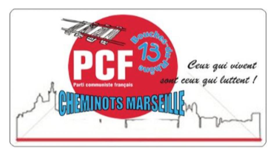 Déraillement à Marseille. Communiqué de la section des cheminots communistes