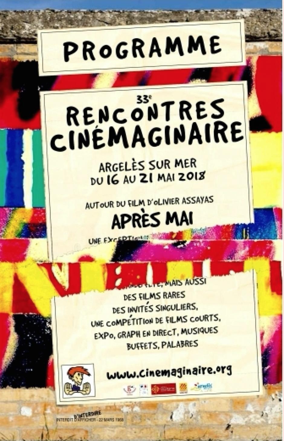Argelès-sur-Mer. 33e rencontres Cinémaginaire