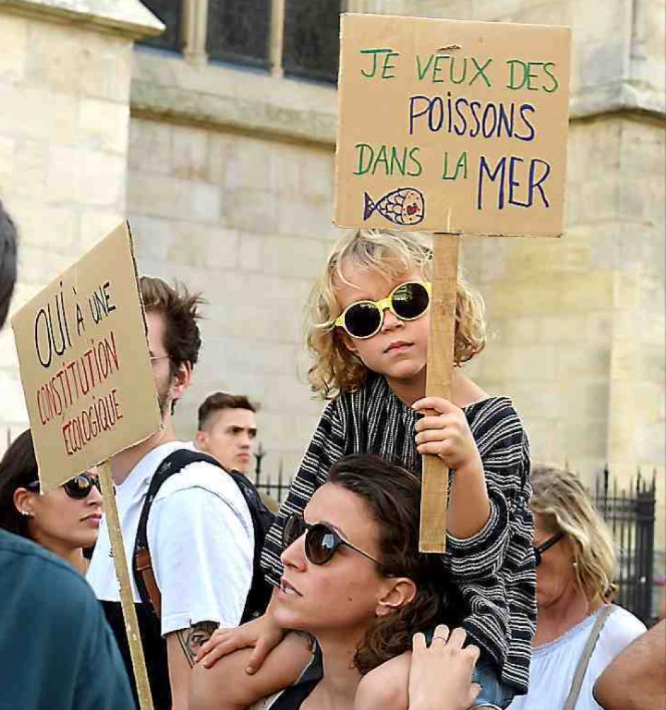 Les citoyens dans la rue pour sauver le climat