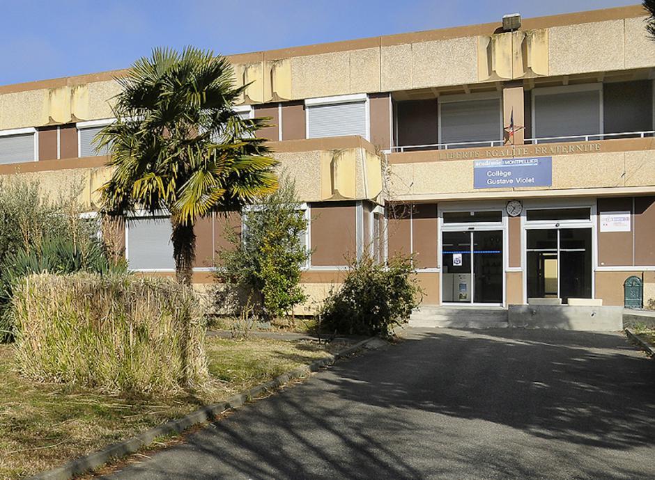 Accident du 5 octobre 2017 au collège Gustave Violet de Prades